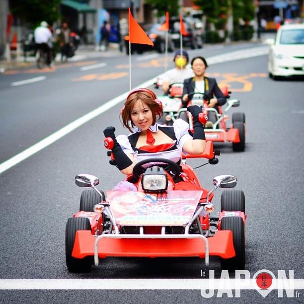 Une petite balade en kart à Akihabara ?