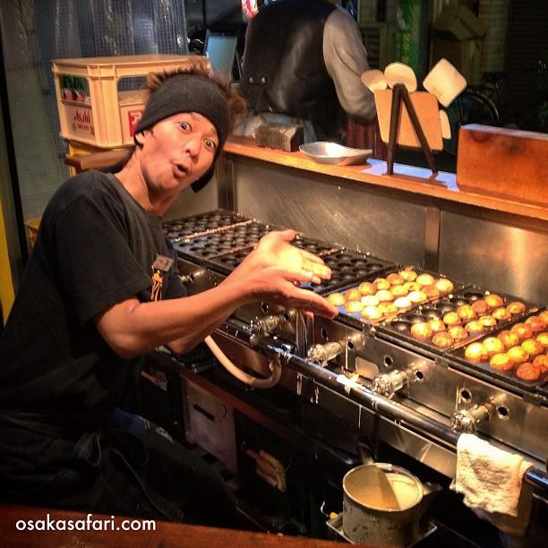 Osaka Takoyaki Boy