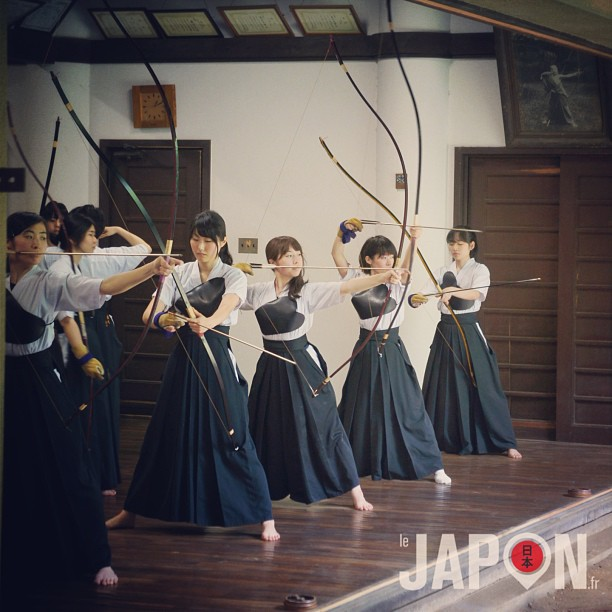 Kyudo, quand les jeunes femmes japonaises deviennent des amazones !