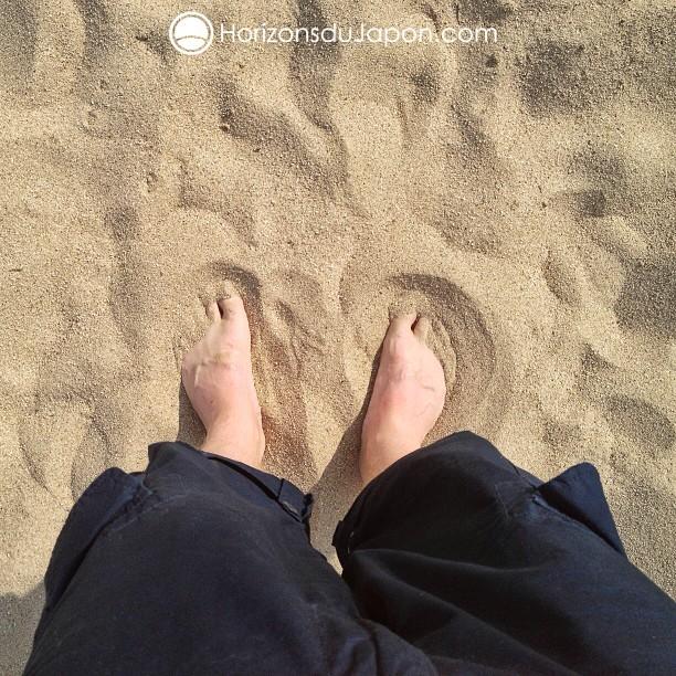 Moi aussi je veux avoir les pieds dans le sable