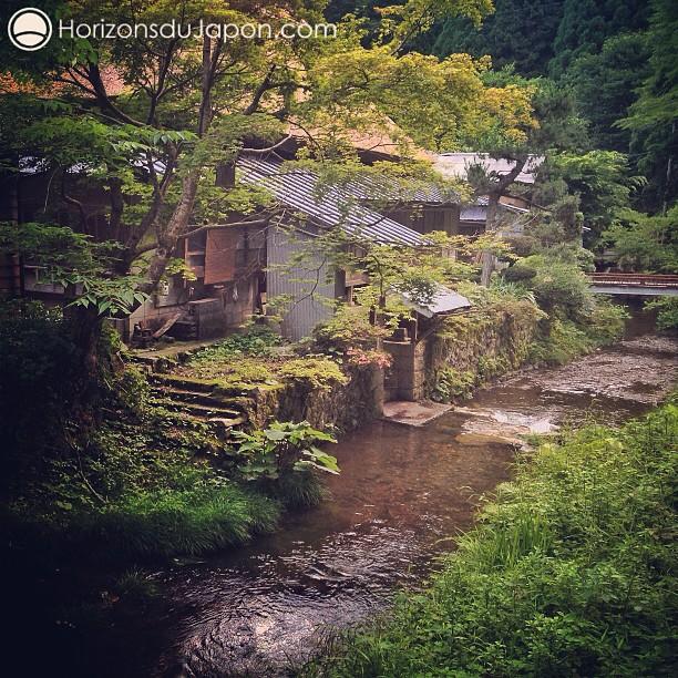 Le ruisseau autour du hameau de Itaibara