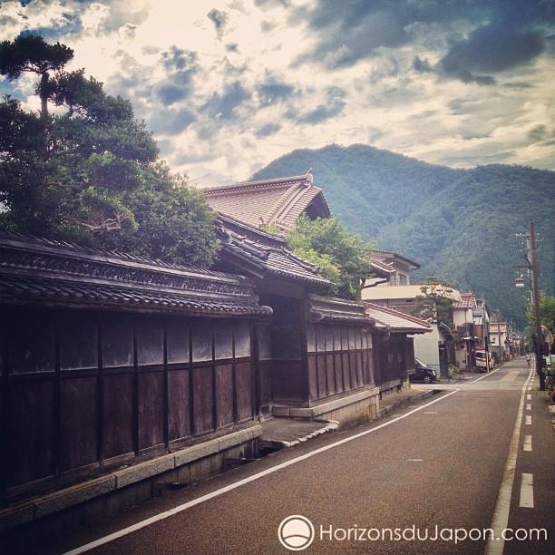 Village de Chizu dans la préfecture de Tottori