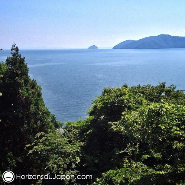 – T'es allé à la mer ? – Non, je suis allé au lac Biwa !