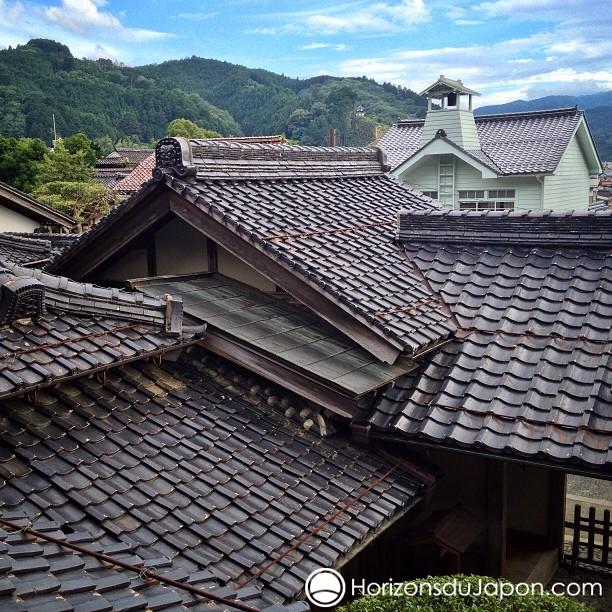 J'aime les toits japonais