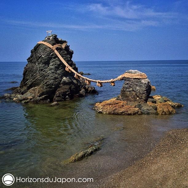 Les célèbres rochers Meoto-Iwa de Futami