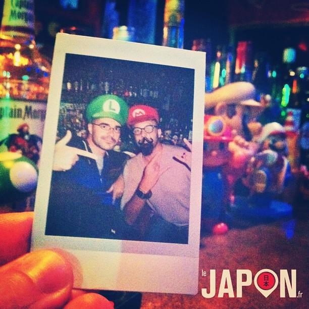 Pendant que @horizonsdujapon magnifi la campagne nipponne, avec @loeildutako on joue à Mario & Luigi à Tokyo