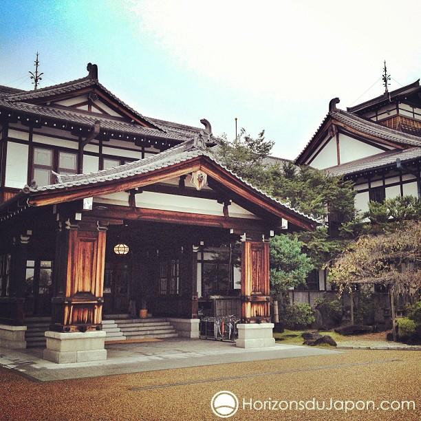 Architecture impériale au Nara Hotel