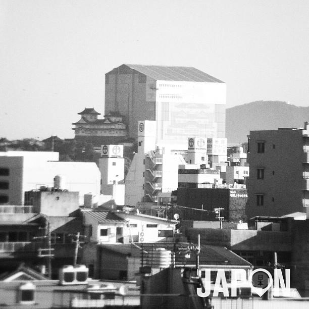 Le château de Himeji n'est pas très sexy en ce moment… :/