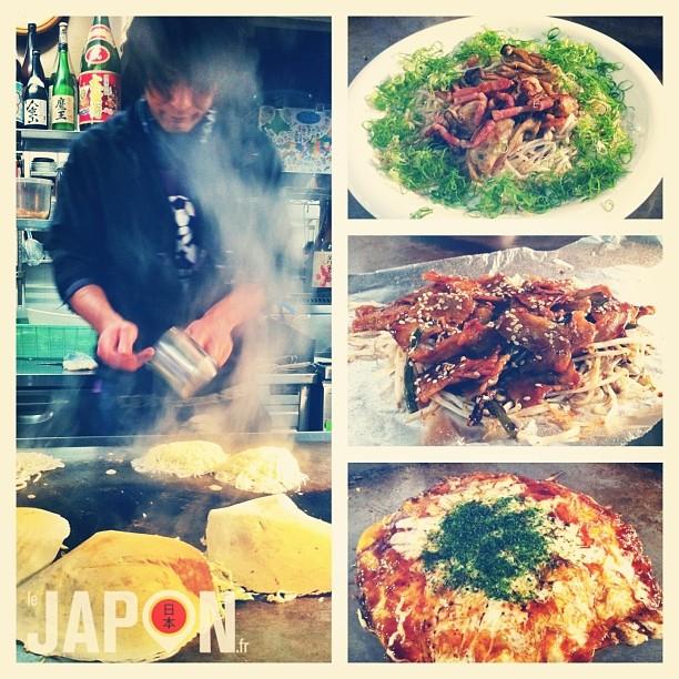 Hier soir @loeildutako m'offrait une soirée dégustation des bons plats d'Hiroshima ! À découvrir lors des Hiroshima Safari avec option Survivor ;)