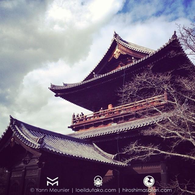 Le Nazen-ji à Kyoto, toujours aussi chouette.