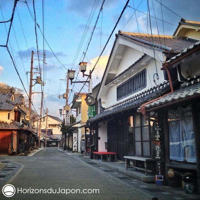 Les charmantes ruelles de Tamba Sasayama
