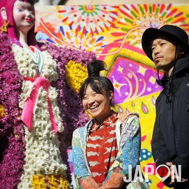 Mince, je ne retrouve plus les noms de ces 2 artistes rencontrés à Sugamo… Voilà ce qui arrive quand je ne publie pas tout de suite… #2013