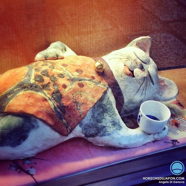 Un vrai salaryman ce chat