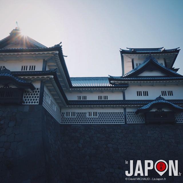 Demain et après demain il y aura des projections sur le château de Kanazawa !