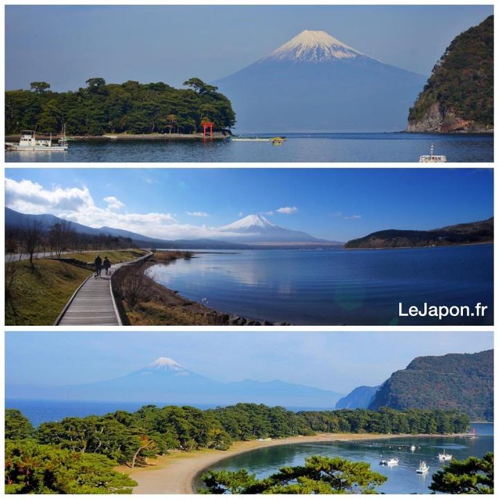 Les 3 vues du Fuji ! #fujiyama #fujisan #japon #japan