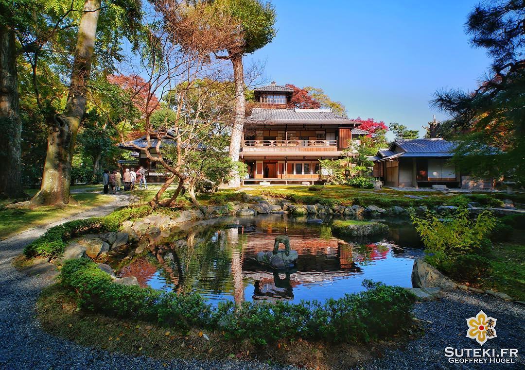 Sympa la petite villa ! #japon #kyoto