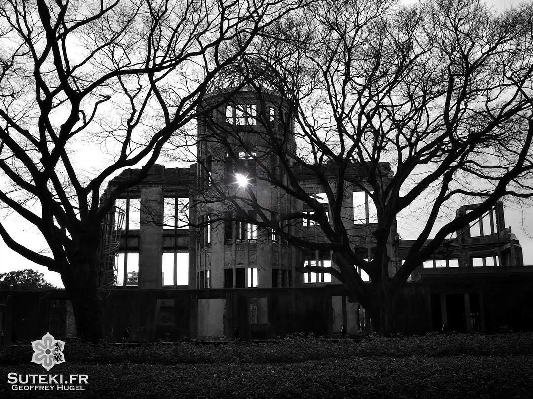 La lumière ressurgit toujours des ténèbres #japon #hiroshima @loeildutako