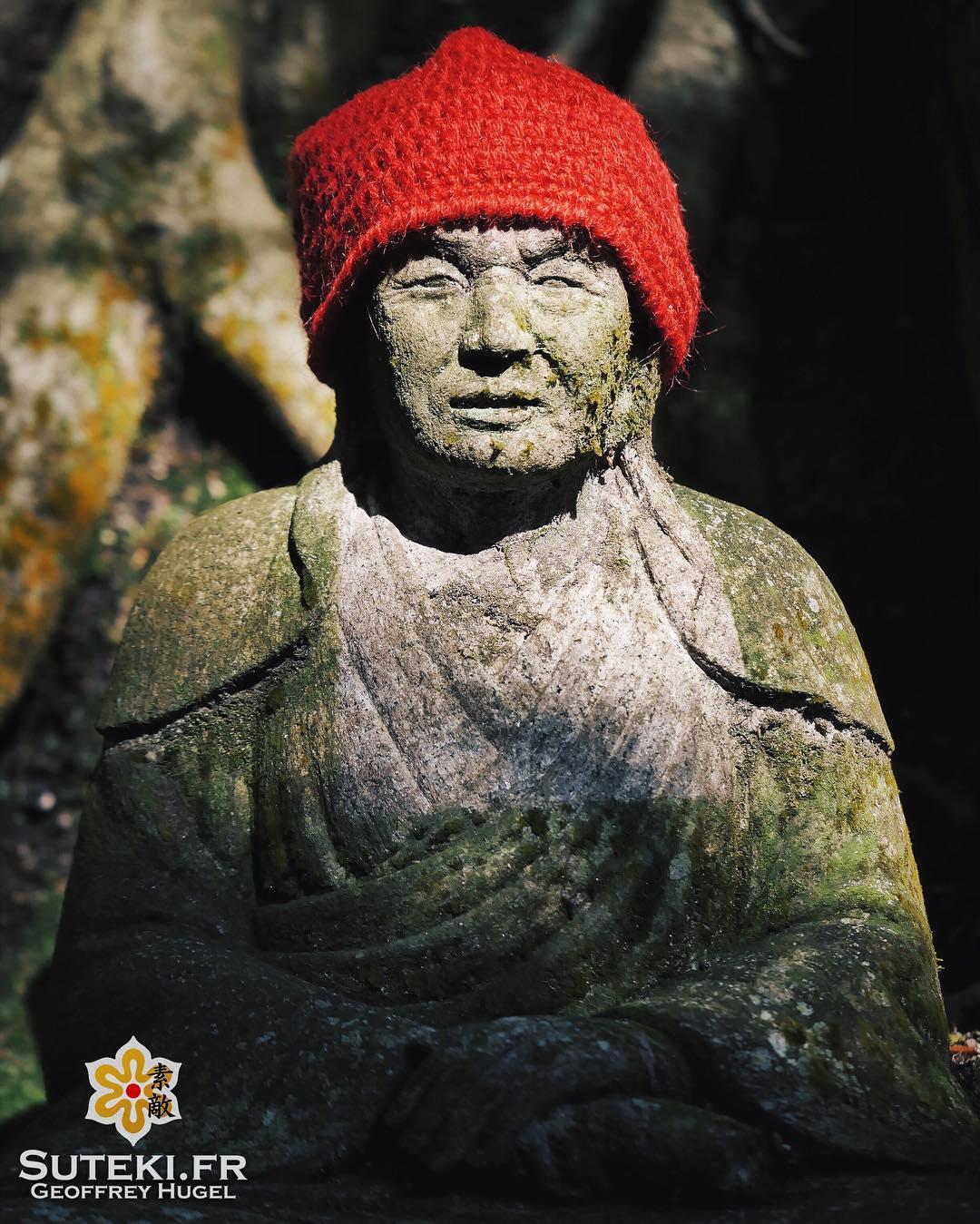 Jizo, ce poseur #japon #hiroshima