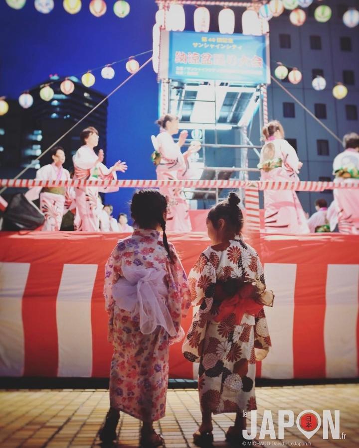 Bon Odori d'Ikebukuro ! 💃 #BonOdori #Ikebukuro #japon
