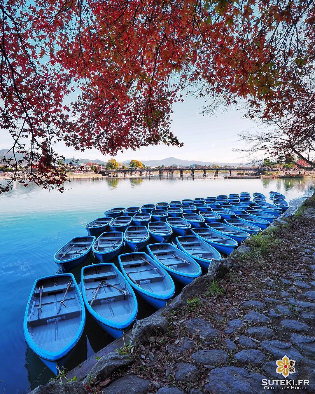 Un petit tour en barque ? #japon #kyoto