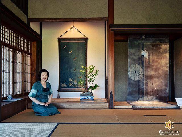 L'artiste Mutsuko Yawatagaki et ses créations #izumo #izumoexperience