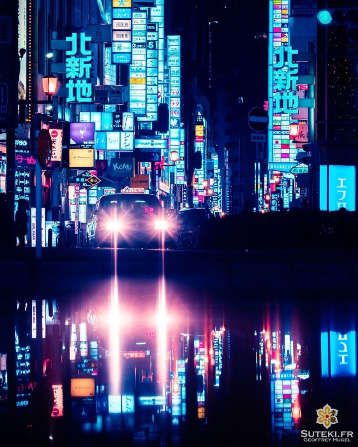 Ambiance Blade Runner pour ce spot connu des photographes japonais !  J'y ai rajouté ma touche perso avec ce reflet difficile à voir, et qui fait justement son petit effet !  Avoir de bon spots, c'est bien mais il faut essayer de rester créatif !  Personnellement j'adore les photos de reflets alors je les cherche peut-être un peu plus que la moyenne ^^ Dites moi si vous aimez ce genre de photos ! . . . . . #osaka #osakajapan #osakatravel #discoverjapan #explorejapan #japon #japan #reflection #bladerunner #bladerunnerrealworld #reflections #reflection_shots #osakastyle #japanawaits #everydayjapan #nightphoto #nightscape #worldplaces #大阪 #大阪旅行 #大阪観光