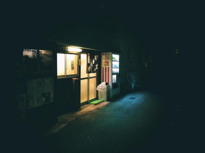 La lumière dans le noir qui indique où trouver la graisse (Un miroir à mon précédent post :)