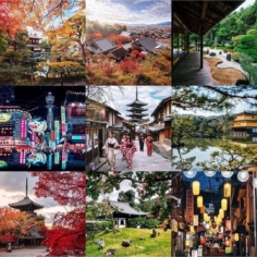 Une année au Japon – Instagram Best Nine 2019