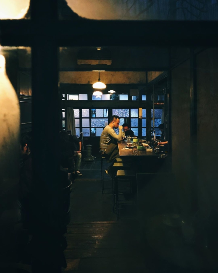 Café d'hiver à Osaka
