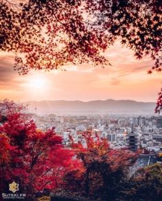 Joli panorama de Kyoto !