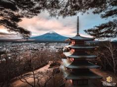 Une vue magnifique du Mont Fuji !