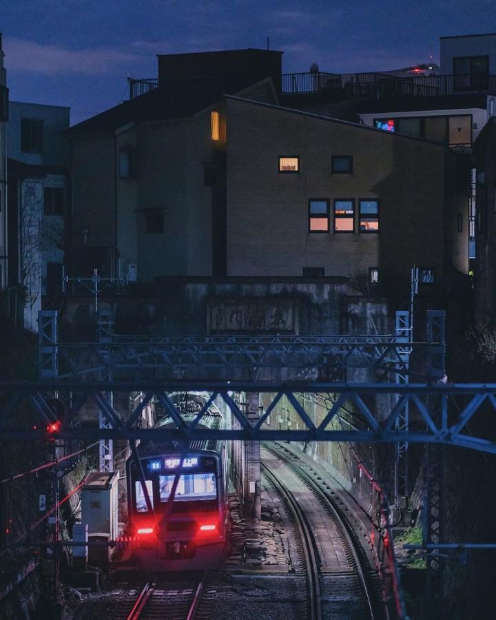 La maison qui abrite les trains
